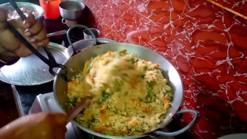সবজি দিয়ে ভাজা ভাত | How to Make Homemade Vegetable Fried Rice at Home | सब्जी तला हुआ 233