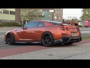 Supercars Leaving Car Meet LOUD DRIFTS BURNOUTS M6 V10 GTR Armytrix