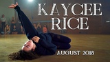Kaycee Rice - August 2018 Dances