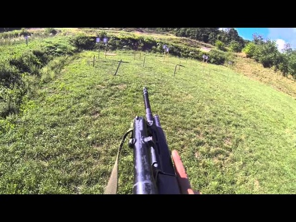 Shooting Session in the Army with the STG 88 A3