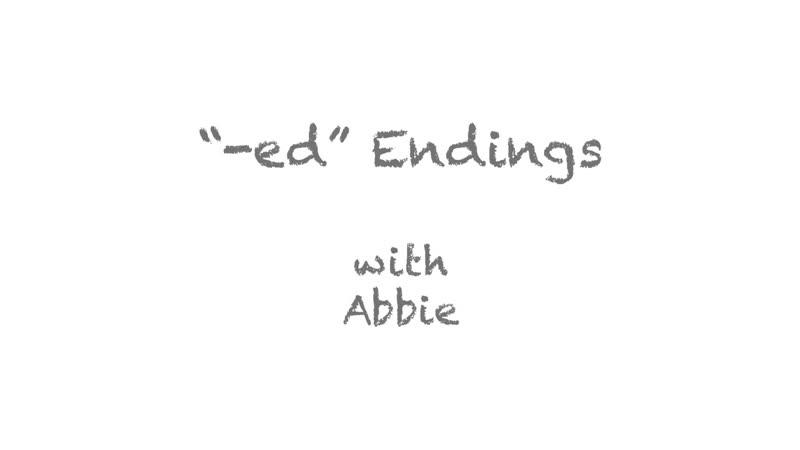 Уроки Английского с носителями (Pronunciation -ed Endings) Уровень A2-B1 Pre-Intermediate