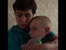 Омичка забрала своих внуков из детдома
