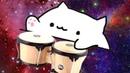 Bongo Cat Лучшая Подборка Бонго Кэт Новый мем 2018