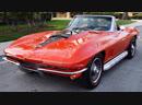 Автомобиль Chevrolet Corvette Stingray 427 1967 года