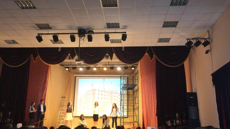 3е сентября школьный концерт Полина