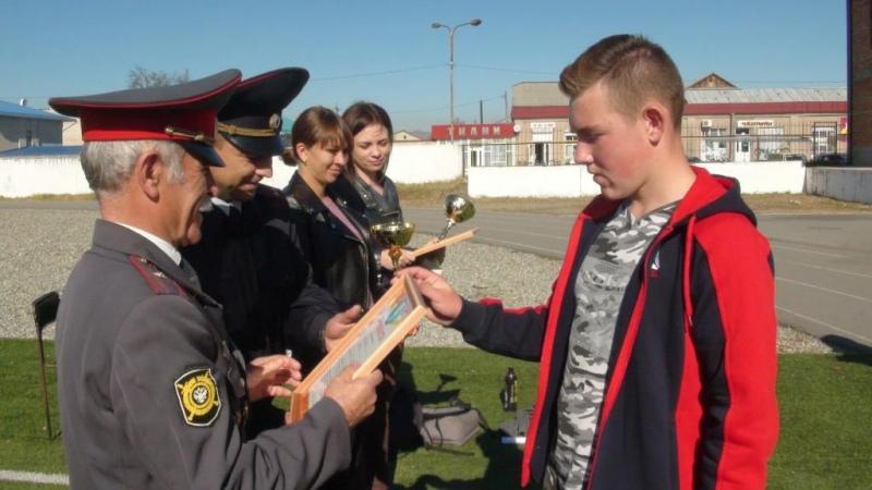 В ст.Зеленчукской прошли соревнования полицейского класса