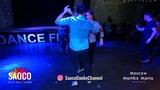 Alexandr Maneev and Gala Lazovskaia Salsa Dancing at 2nd Moscow MamboMania weekend, Fri 08.03.2019