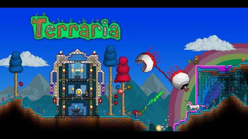 Terraria/Копаем с утра пораньше
