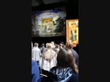 Антон и Виктория Макарские на праздничном концерте православной молодежи Моск. Области