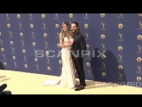 Tom Kaulitz Heidi Klum at Emmy Awards