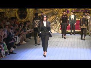 Dolce & Gabbana - Menswear show Spring-Summer 2019
