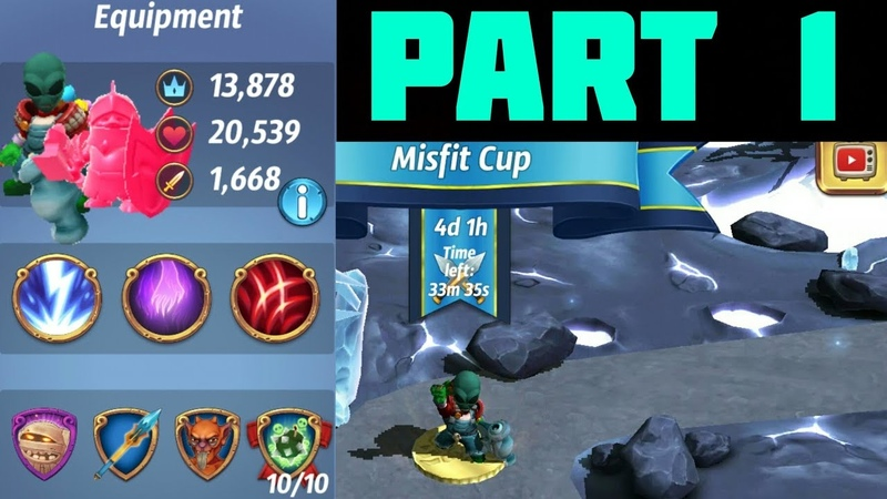 ROYAL REVOLT 2 MISFIT CUP PART 1