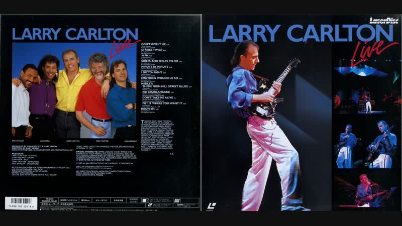 Larry Carlton - Live at the Warfield Theater, San Francisco 1987