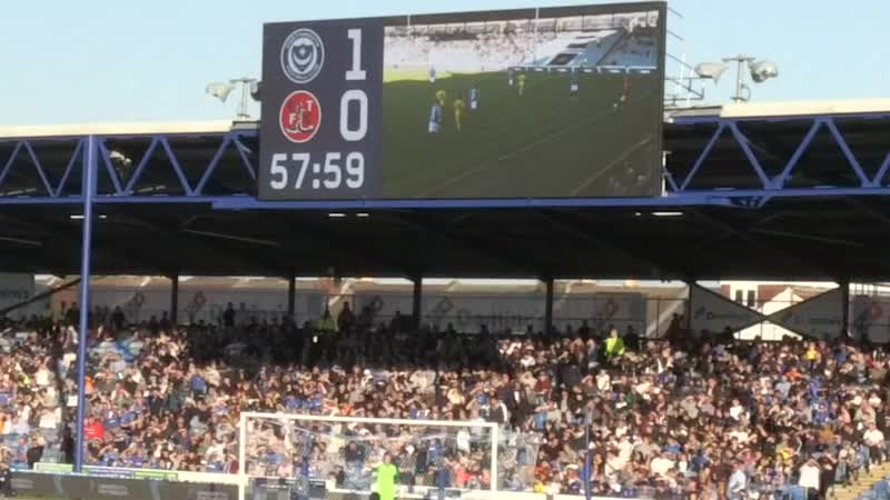Fratton Park pays tribute to Craig Bryden the 'Pompey Pirate' mp4