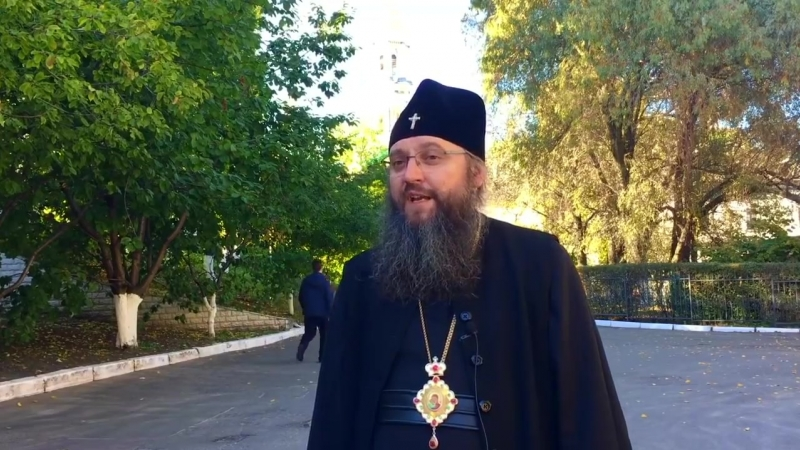 Томос никто не давал и анафему никто не снимал, - архиепископ Климент - YouTube (720p)