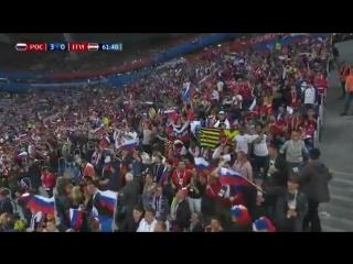 Артём Дзюба забивает третий гол в ворота Египта!
