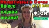 Недвижимость в Сочи по ФЗ 214Квартиры в Сочи для жизниНовостройки СочиЖК Кватро.