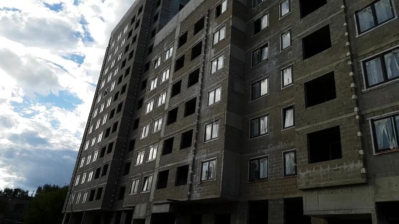 ЖК Нормандия (форум жителей - normandforum.com) корпус №3 - результаты крупно, со стороны ул.Осташковской