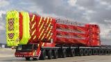 World Biggest DEMAG KANSON MAN Liebherr Cranes Trucks Mega Machines Heavy Equipment Engineering