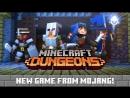Minecraft- Dungeons – Announce Trailer