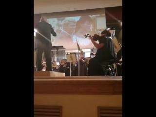 концерт симфонического оркестра в филармонии