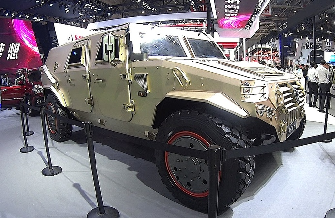 New Badass Armored Car from the Chinese Army Hammer