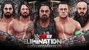 WWE 2K19 Elimination Chamber Roman Reigns vs Cena vs Rollins vs Styles vs Strowman vs Triple H