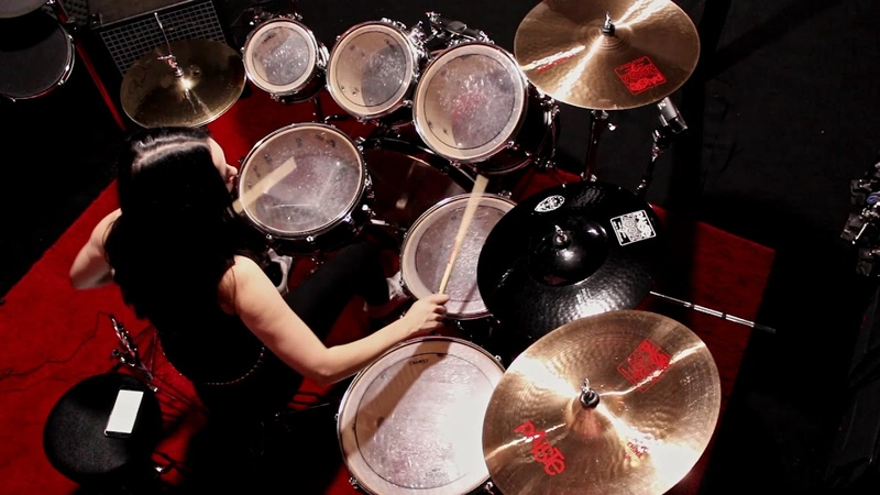 NERVOSA - Never Forget, Never Repeat (Drum Playthrough by Luana Dametto) | Napalm Records