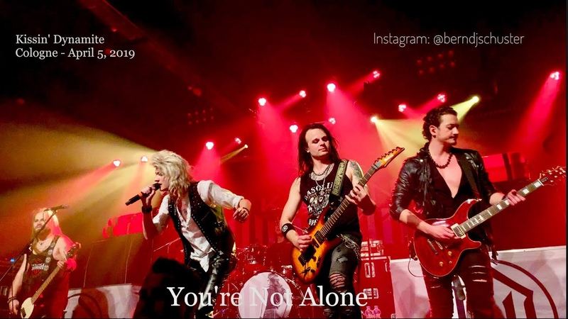 Kissin Dynamite - Youre Not Alone @Kantine, Cologne - April 5, 2019 LIVE 4K