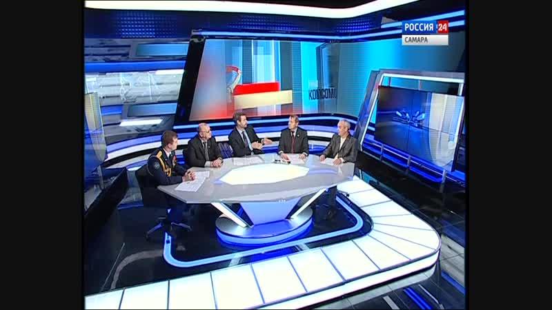 Россия-24. 100-лет Комсомолу. СВПО Сокол СГАУ. Постовое движение