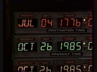 Назад в будущее (1985) Французская версия VHS-MOVIE
