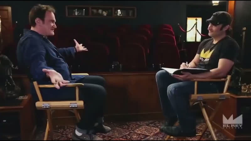 Интервью Квентина Тарантино для El Rey Network 1 часть
