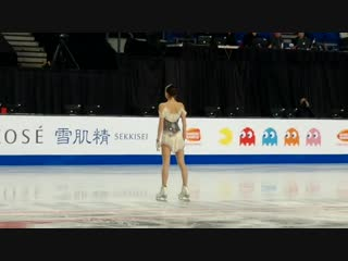 Alina Zagitova - SP practice - 2018 Grand Prix Final