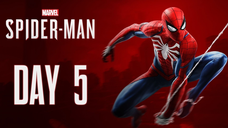 ПОБОЧКИ 60% 🕷️ ДЕНЬ 5 - Marvel's Spider-Man [PS4 Pro, 1080p60]