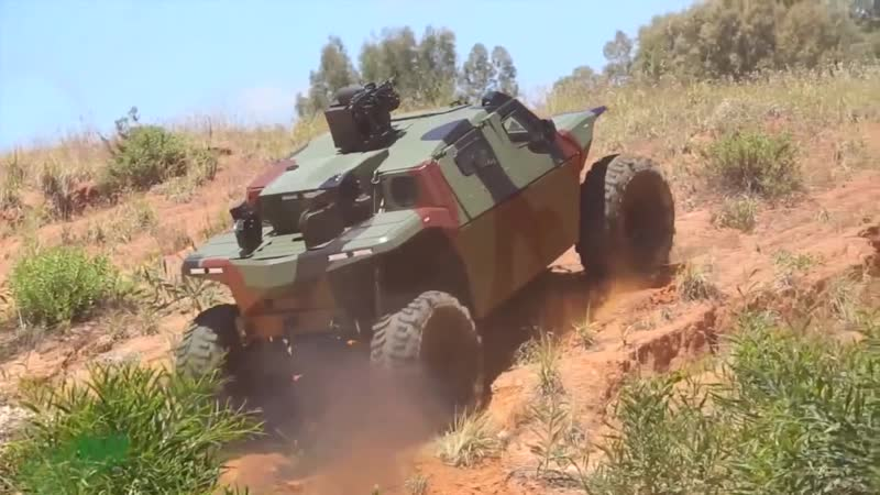 Israel Military Industries IMI unveil their new CombatGuard rough terrain armoured combat vehicle