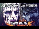 Joey Jordison VS Jay Weinberg DRUM BATTLE