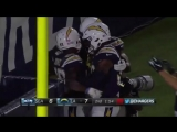 Jones touchdown Chargers vs Seahawks :19 August 2018 NFL preseason 2018