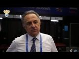 Виталий Мутко прокомментировал победу над Испанией(russia.soccer)