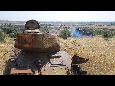 [Syria] Tiger Forces goes along Golan | Силы Тигра идут вдоль Голан