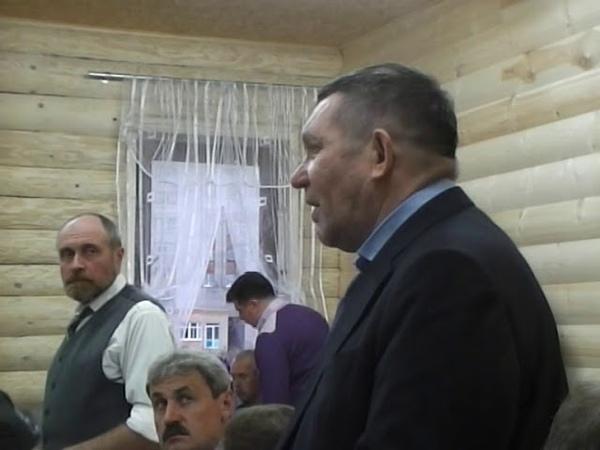 Рыбинск Беседа 29.09.2012 (10 часть)