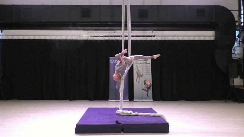 Майя Ануфриева Catwalk Dance Fest pole dance aerial 30 04 18