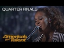 Glennis Grace Incredible Singer Dazzles The Crowd With Never Enough America's Got Talent 2018
