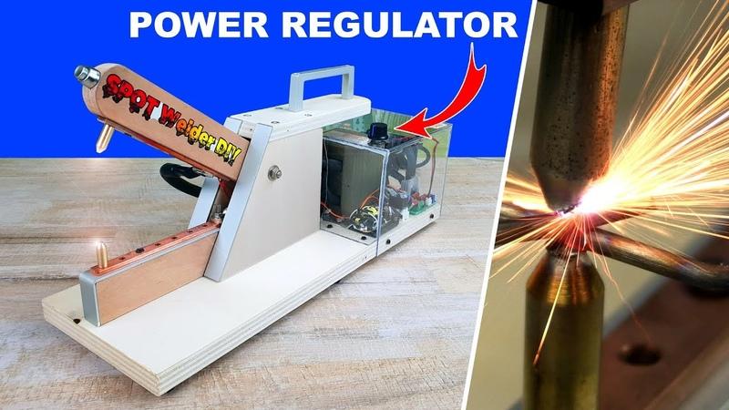 Spot welder Power regulator diy - saldatrice puntatrice fai da te