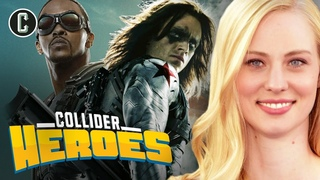 Falcon and Bucky TV Series; Daredevil's Deborah Ann Woll Interview - Heroes