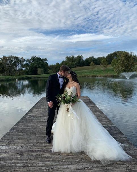 Звезда «Анатомии страсти» и «Нэшвилла» Крис Кармак женился на актрисе Эрин Слэйвер