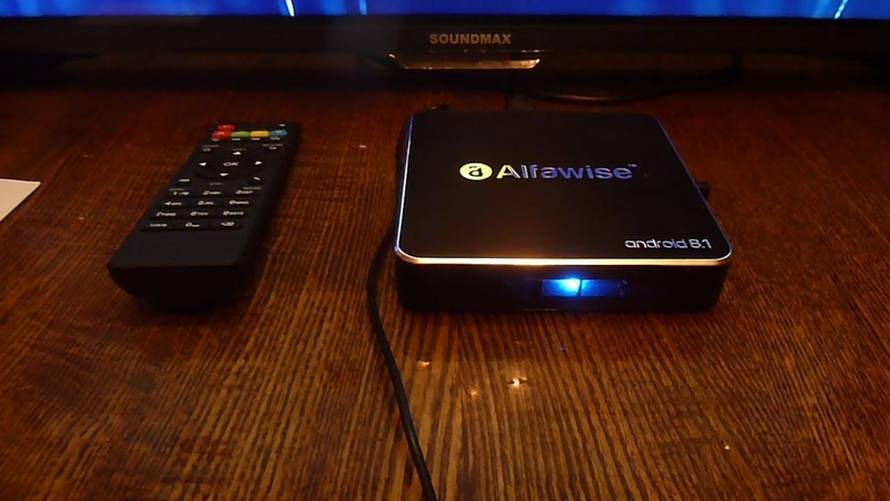 Обзор Alfawise A8 TV BOX Rockchip 3229 Android 8.1
