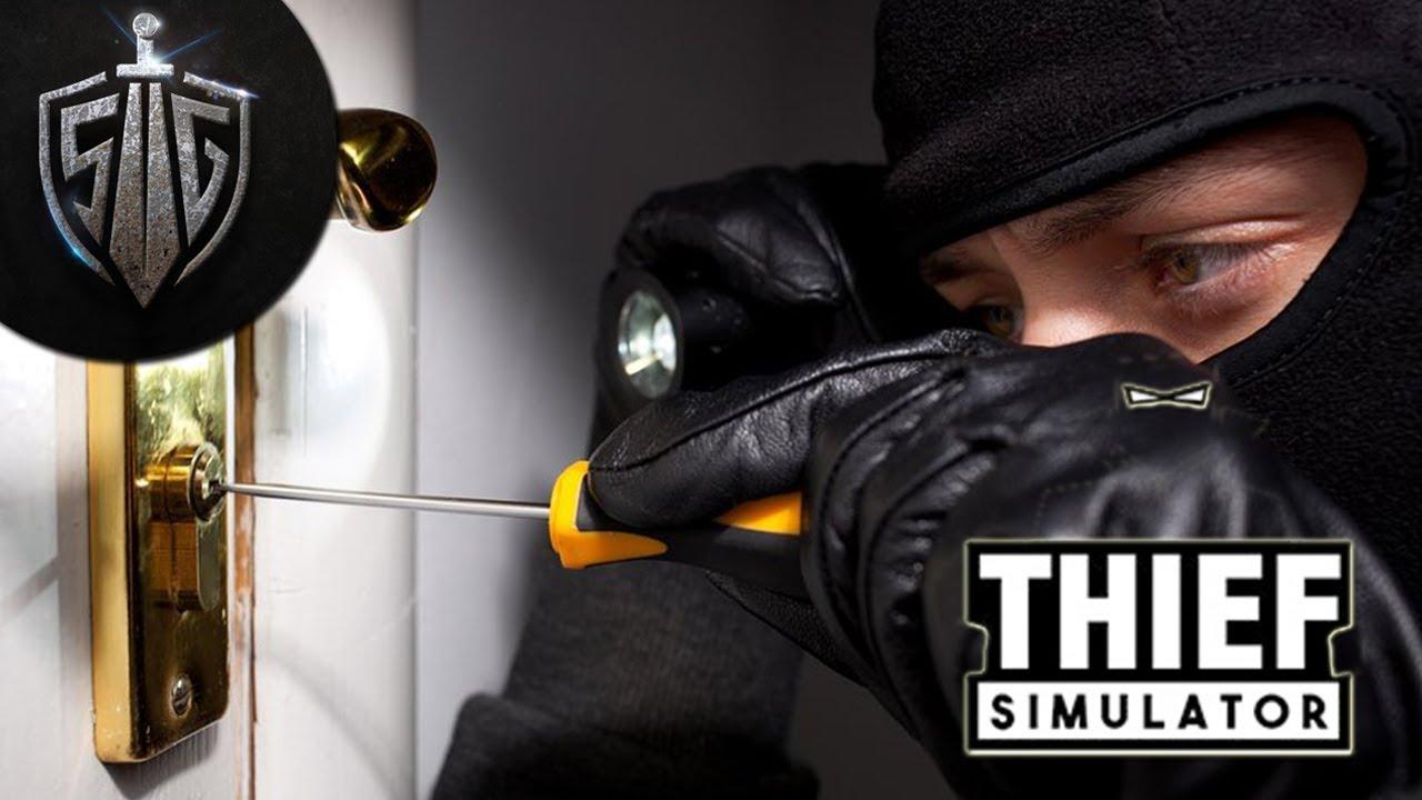 взлом в Thief Simulator
