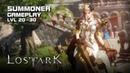Lost Ark - Summoner lvl 20~30 Gameplay - Final CBT - PC - F2P - KR