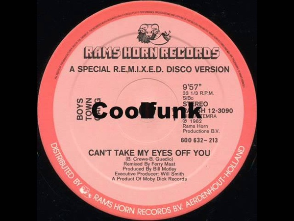 Boys Town Gang - Can't Take My Eyes Off You (12 Special R.E.M.I.X.E.D. Disco )