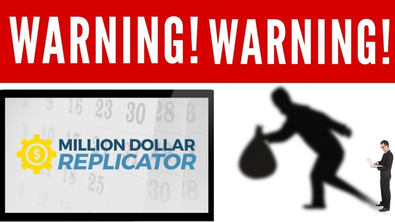 Million Dollar Replicator Scam Review Warning - Michael Sachs Fraud Exposed! (Proof)